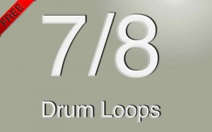 free 7/8 drum loops