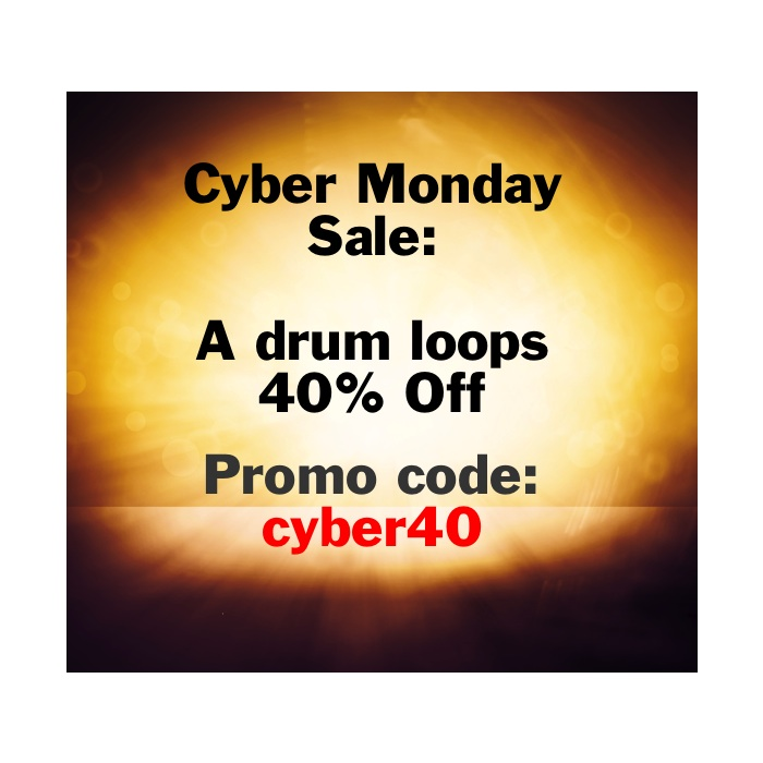 Cyber Monday Sale – 40% off